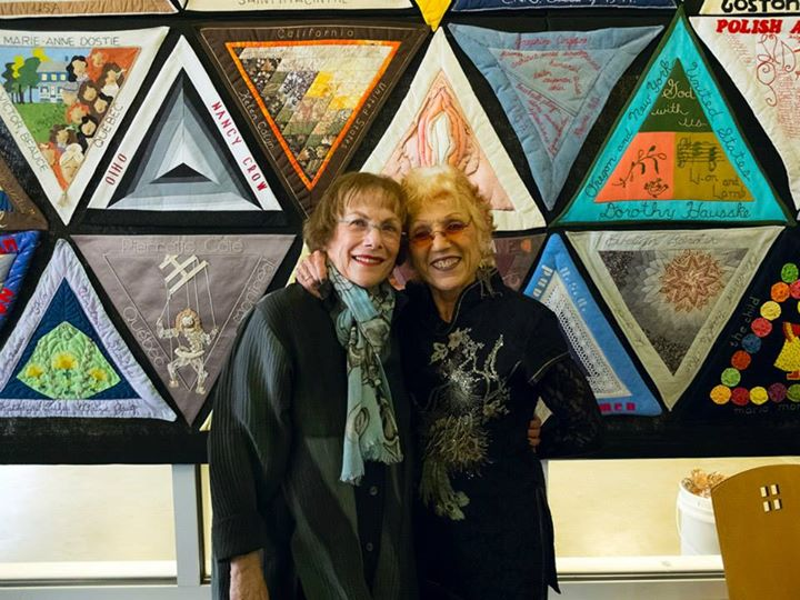 International Honor Quilt - Shelly Zegart and Judy Chicago