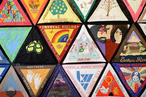 International Honor Quilt - Detail
